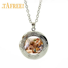 BTS Band Jewelry Photo Locket Necklace Fashion