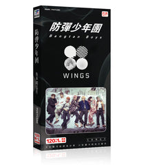 BTS WINGS 2 Edit Photo Album 121 postcards
