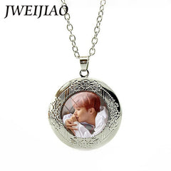 BTS Bangtan Boys Locket Necklace ARMY LOVE YOURSELF