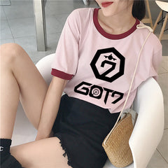 GOT 7 Concert Korean Loose T-shirt