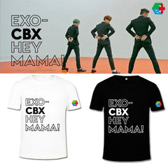 EXO CBX Hey Mama Cotton Tshirt