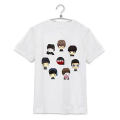 BTS  Cartoon T-Shirt