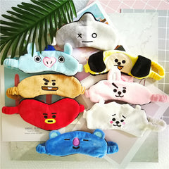 BTS BT21   EyeShade Travel Sleep Shade