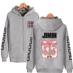 BTS  Hoodies  Winter Thicken Warm