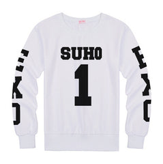 EXO  Sweatshirt Member Name