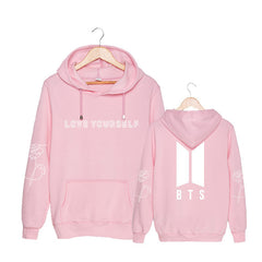 BTS  Cotton Hoodies