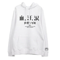 BTS  WINGS Blood Sweat &Tears Hoodies