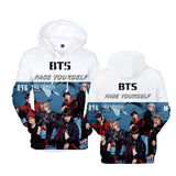 BTS FACE YOURSELF New 3D Hoodies