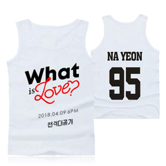 TWICE Tank Tops Sleeveless Print