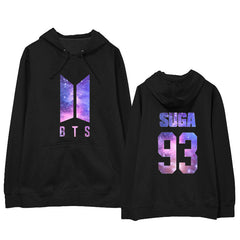 BTS  Long Sleeve Sweatshirts