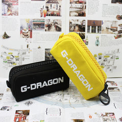 BIGBANG G-Dragon GD  Canvas Jewelry Admission Package Pencil Bags Cosmetic Case