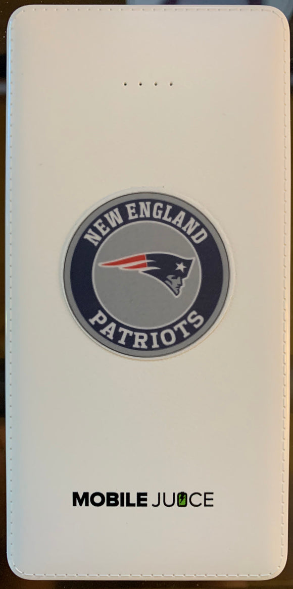 Patriots Portable Phone Charger