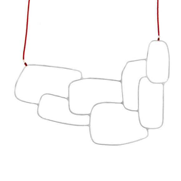 Cubic Necklace - Silver