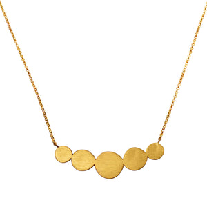Gold Abacus Necklace