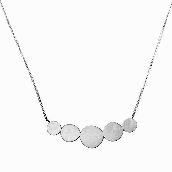 Silver Abacus Necklace