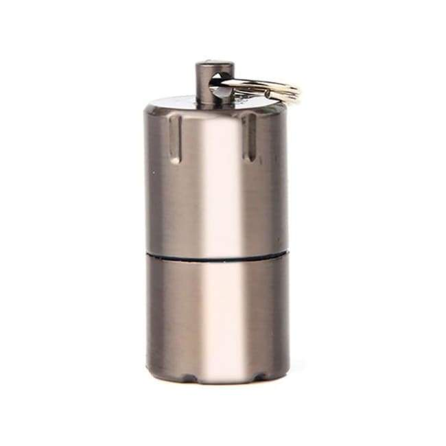 Mini Keyring Lighter - Silver