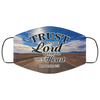Trust in the Lord, Proverbs 3:5 Inspirational Face Masks, Bible Verse Face Covering, Faith Mask