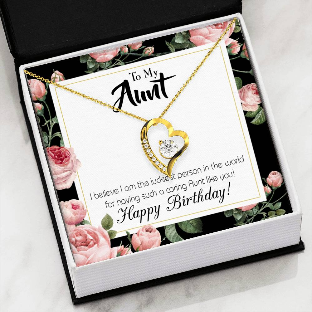 Aunt Gift Aunt Jewelry Forever Necklace Stainless Steel gifts for Aunt Aunt Like You
