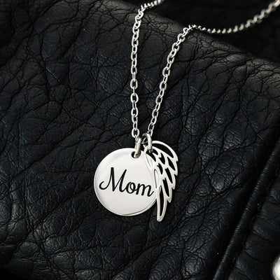 Mom Remembrance Necklace When Someone You Love Mother Memorial Necklace