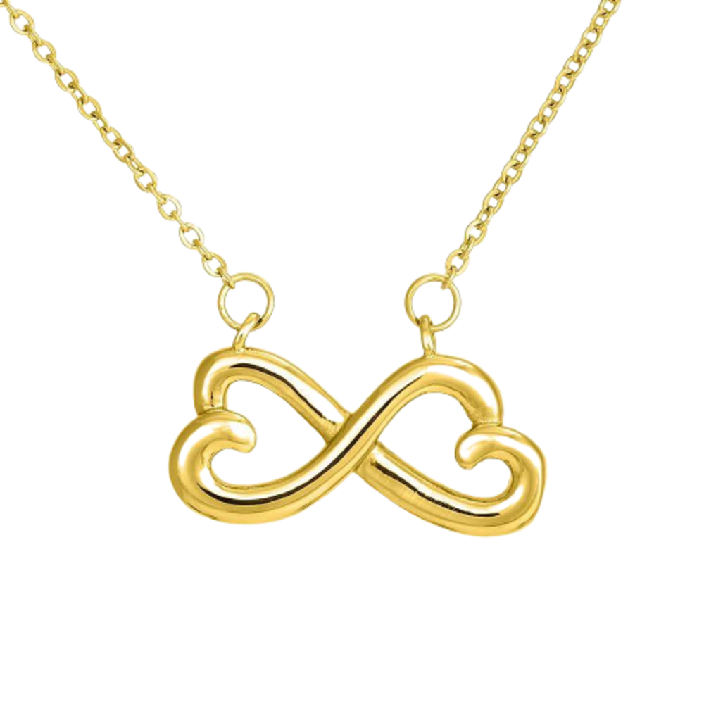 Have Each Other, Mom to Daughter, Infinity Love Necklace, Heartfelt Daughter Card & Pendant Stainless Steel or 18k Gold