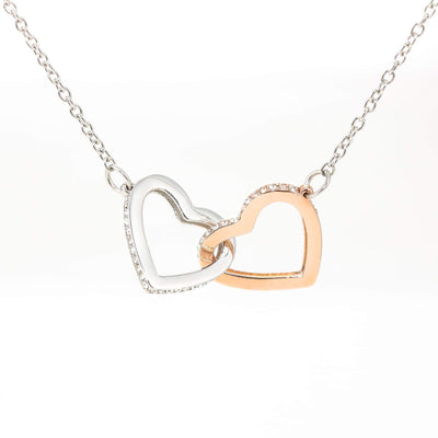 My Unending Love For You Gift to Wife Inseparable Necklace Pendant 18k Rose Gold 16""