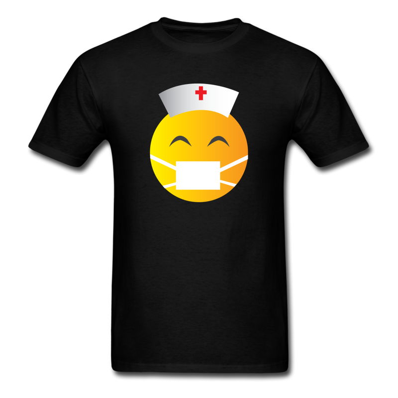 Express Your Love Gifts Nurse Emoji T-Shirt S