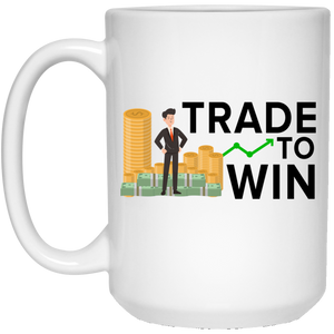 Express Your Love Gifts Trade To Win 15 oz. White Mug White / One Size