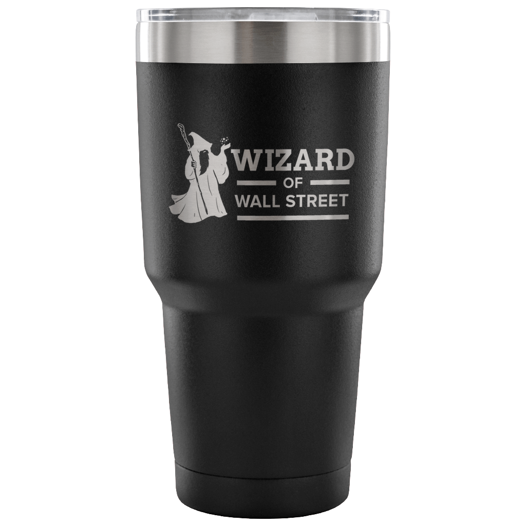 Express Your Love Gifts Wizard Of Wall Street Trader Gift Tumbler 30oz.