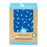 Change Pad Organic Cotton Fish Sticks Blue