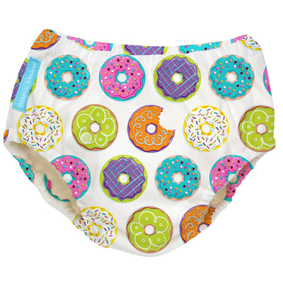 2-in-1 Swim Diaper & Training Pants Delicious Donuts Small