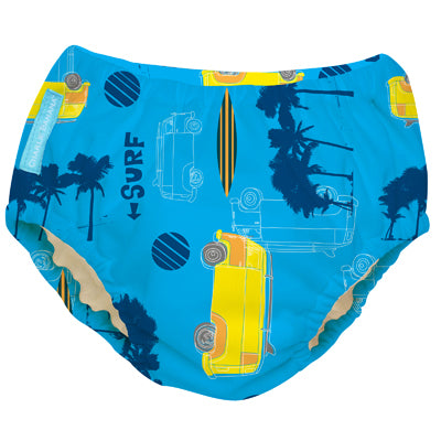 2-in-1 Swim Diaper & Training Pants Malibu Medium