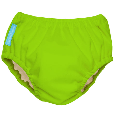2-in-1 Swim Diaper & Training Pants Green Medium