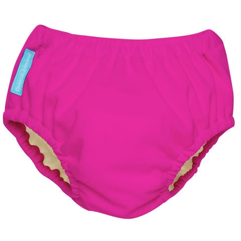 2-in-1 Swim Diaper & Training Pants Hot Pink Small