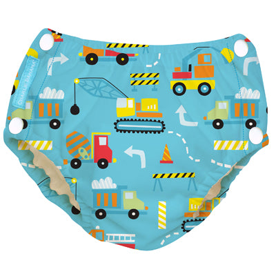 Reusable Easy Snaps Swim Diaper Construction Medium