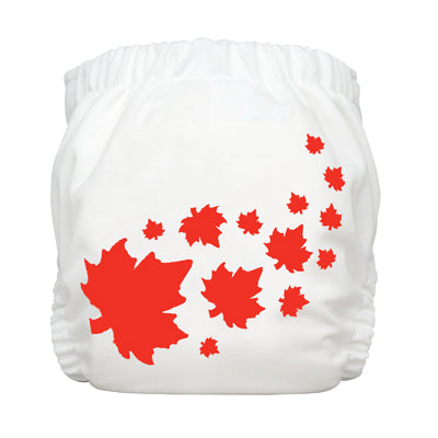 Diaper 2 Inserts Maple Leaf White Medium