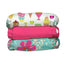 3 Diapers 6 Inserts Organic Crush One Size