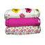 3 Diapers 6 Inserts Hot Blooms One Size Hybrid AIO