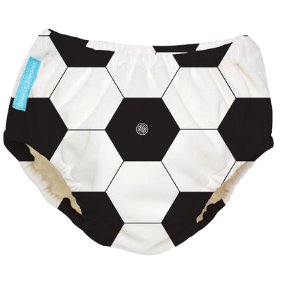 Reusable Swim Diaper Soccer X-Large