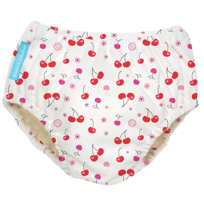 2-in-1 Swim Diaper & Training Pants Cherries Medium
