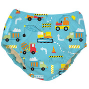 2-in-1 Swim Diaper & Training Pants Construction X-Large
