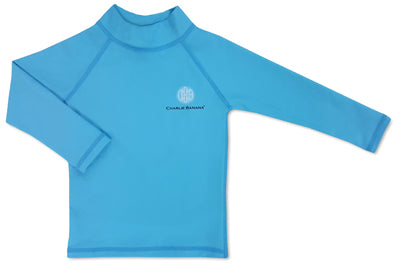 Rash Guard Turquoise 12-18 months