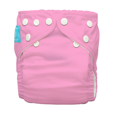 Diaper 2 Inserts Baby Pink One Size Hybrid AIO
