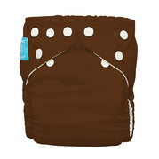 Diaper 2 Inserts Holly Brown One Size