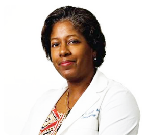 A picture of Elaina George, M.D, board-certified surgeon at Mount Sinai Medical NY,                                                                                                         Princeton University