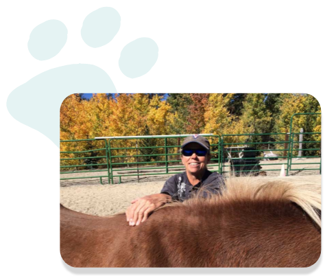 A photo of Dr. Kris Ahlberg, DVM, a veterinarian who has been using C60live products in his practice for years now