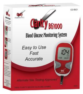 Clarity BG1000 Blood Glucose