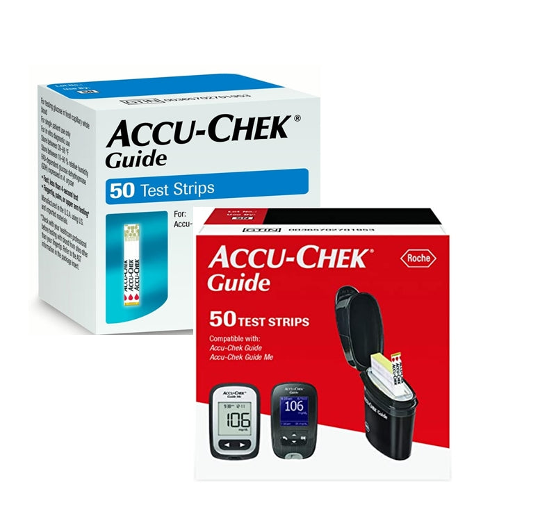 Accu Chek Guide Test Strips 50 count