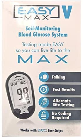 Easy Max V Self-Monitoring Blood Glucose System
