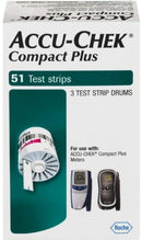 Accu Chek Compact Plus Test Strips 51 count