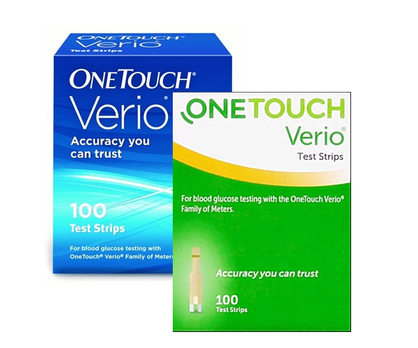 One Touch Verio Test Strips 100 count